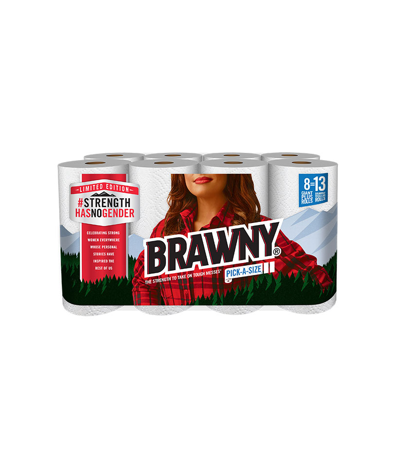 The Brawny Man Is Being Replaced By a Woman