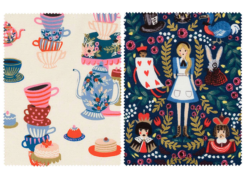 rifle paper co alice in wonderland