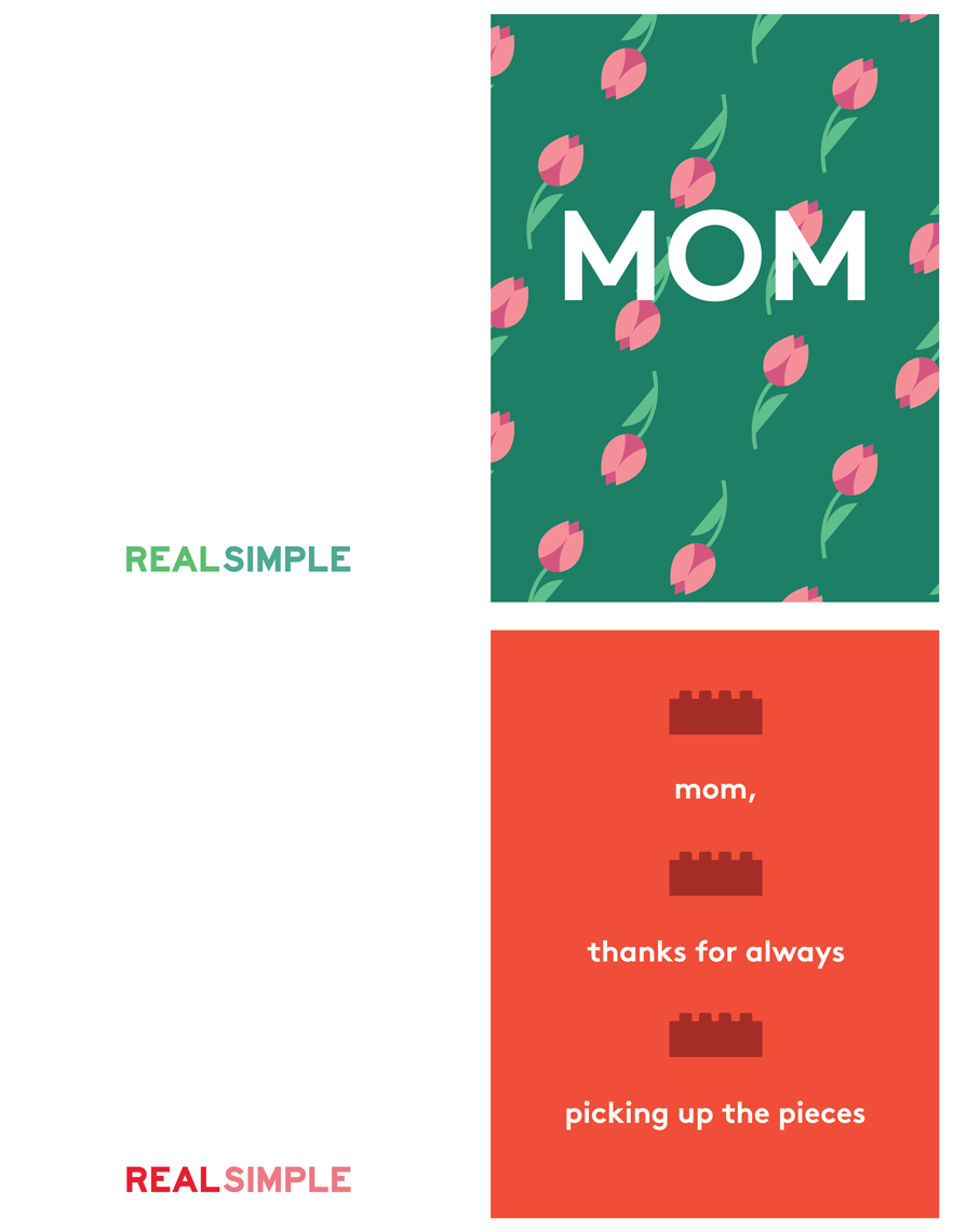 Mother\'s Day Printable Cards | Real Simple