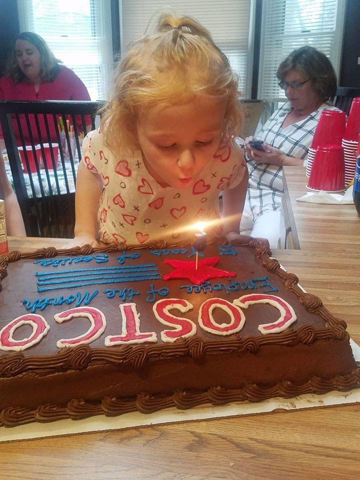 This Little Girl Had an Epic Costco-Themed Birthday Party