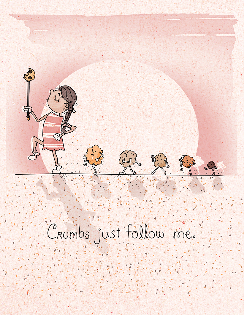 Crumbs Just Follow Me