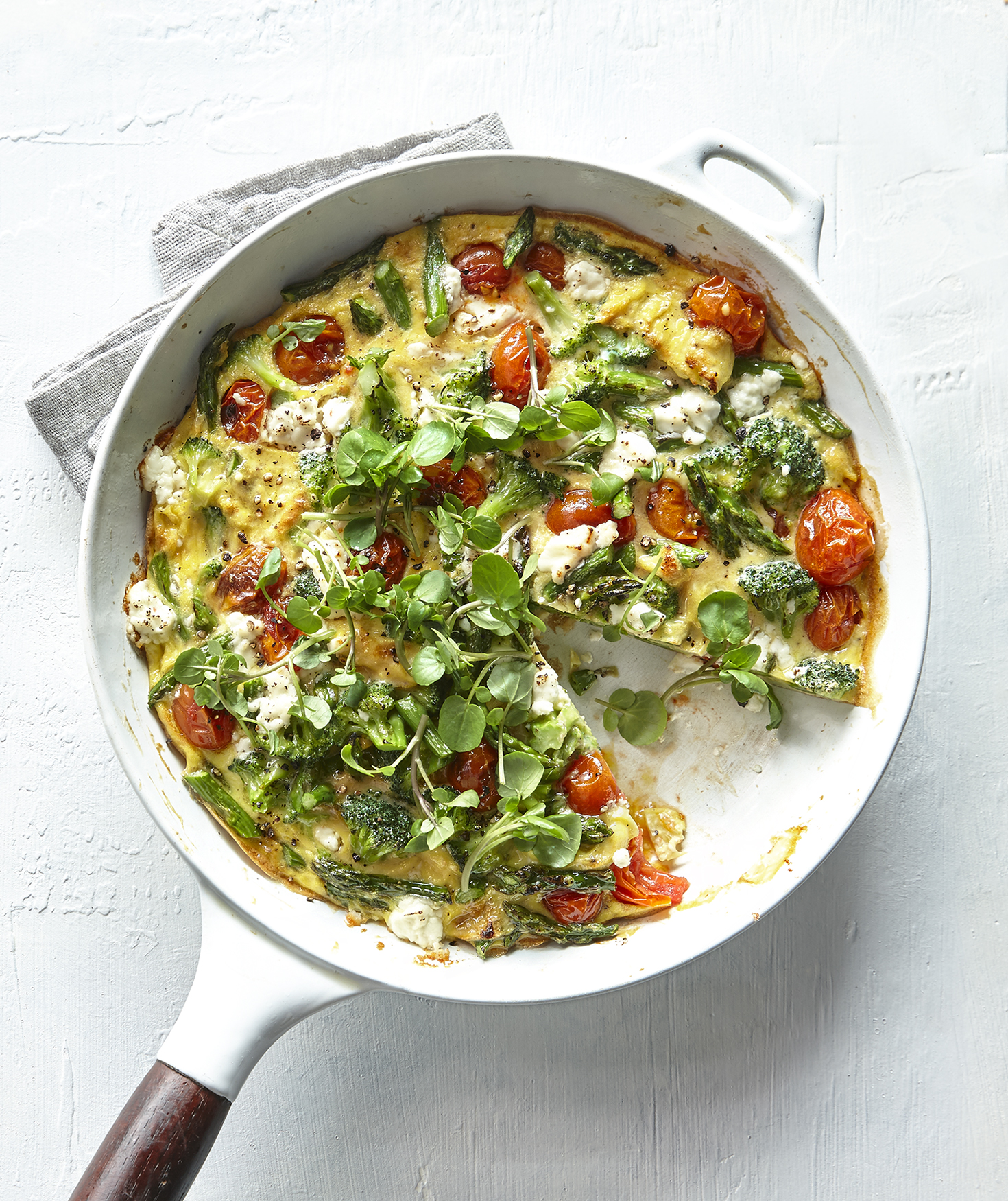 spring-vegetable-frittata