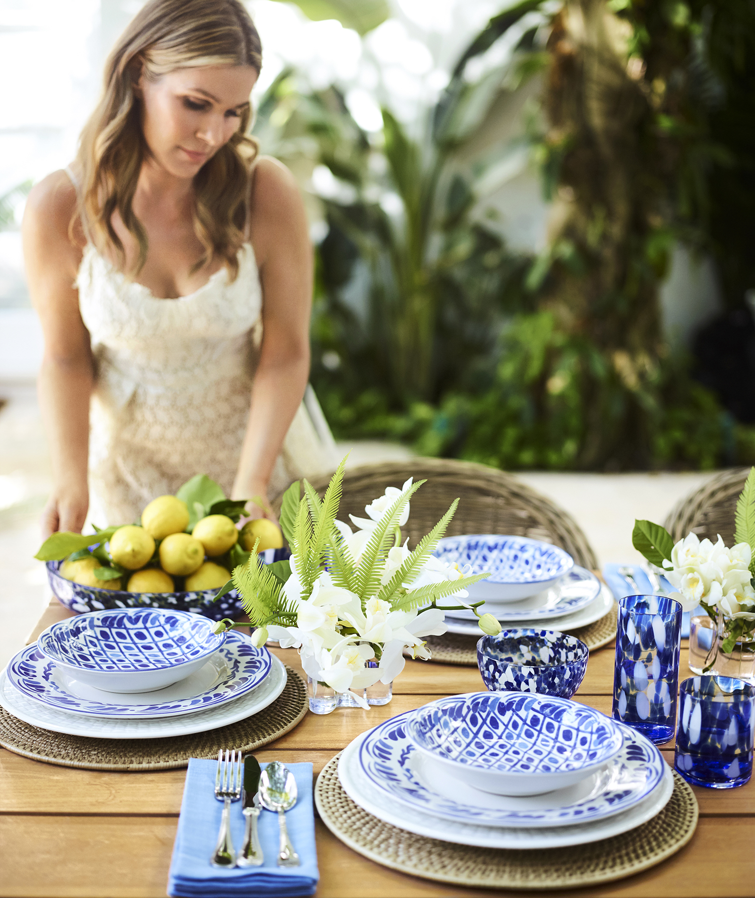 Aerin Lauder outdoor entertaining