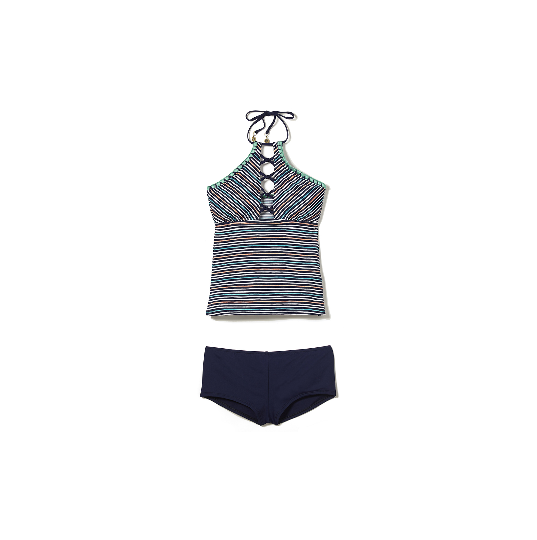Sperry Striped Tankini