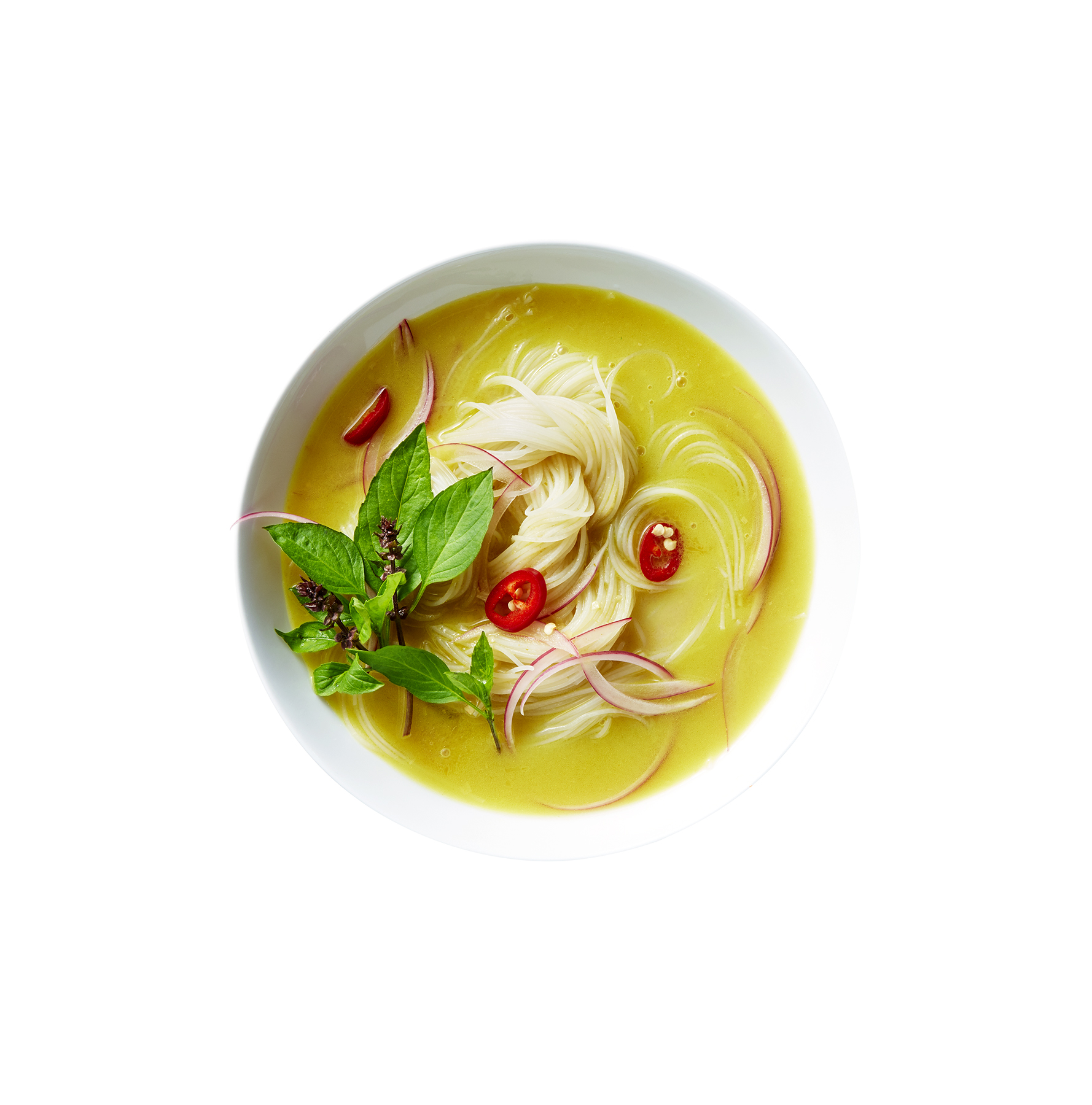 Coconut Curry Soup With Lemongrass