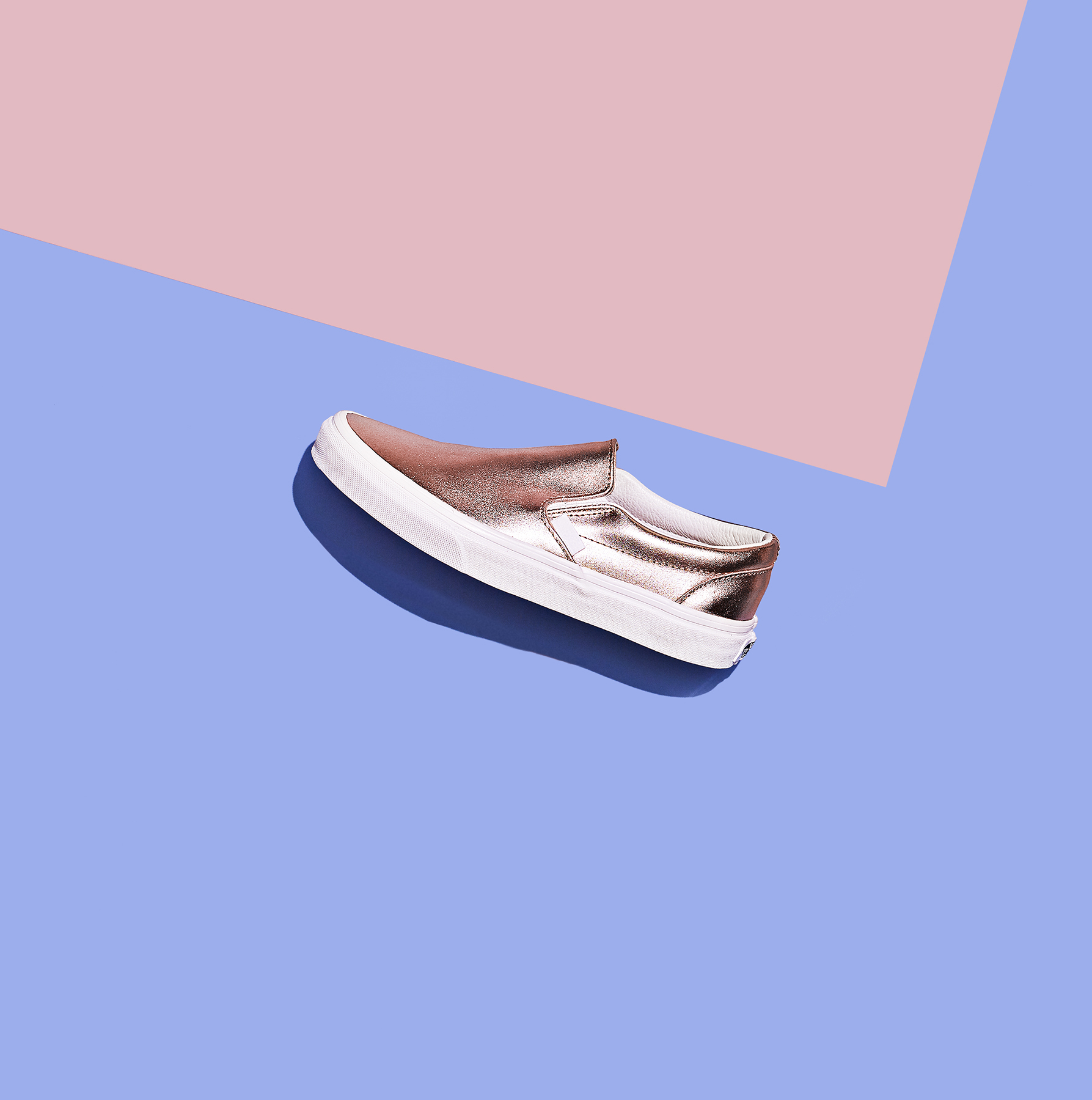 Vans Classic Slip-On in Rose Gold