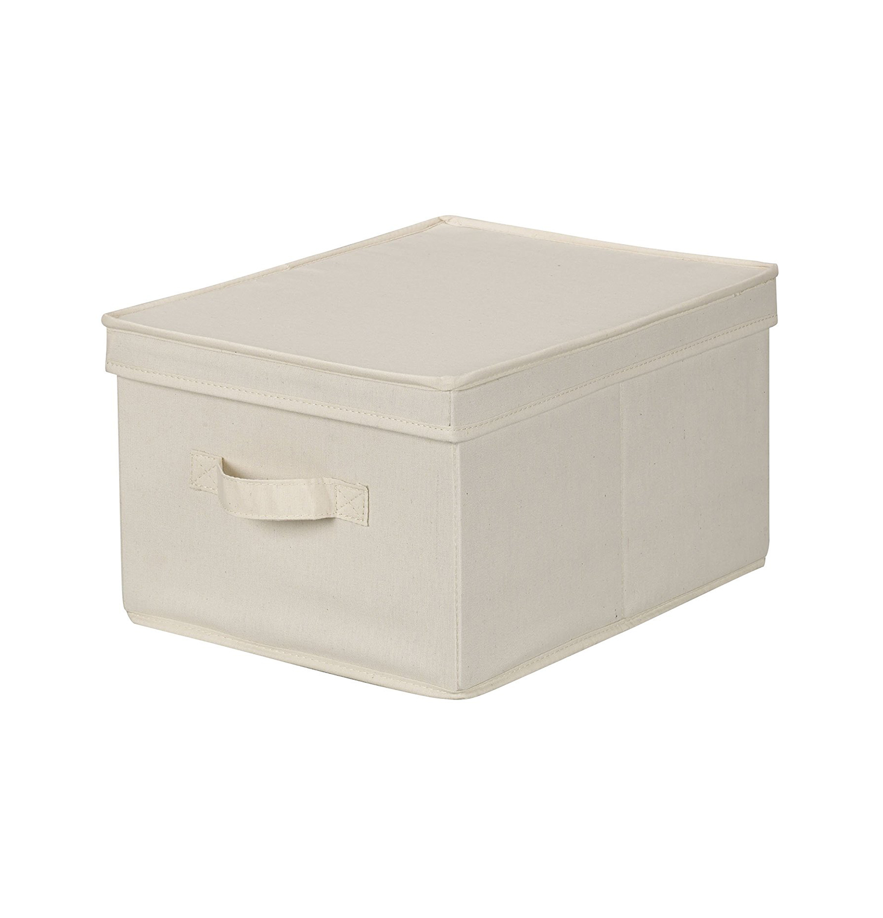 Household Essentials Storage Box with Lid and Handle