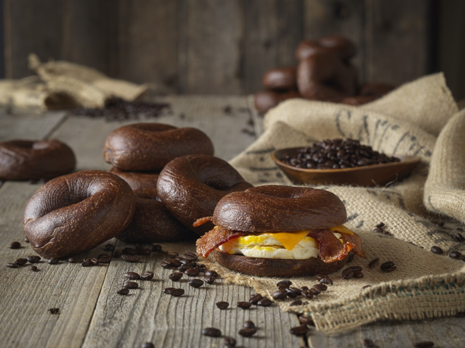 A Major Bagel Chain Is Now Serving Coffee Spiked Bagels Real Simple