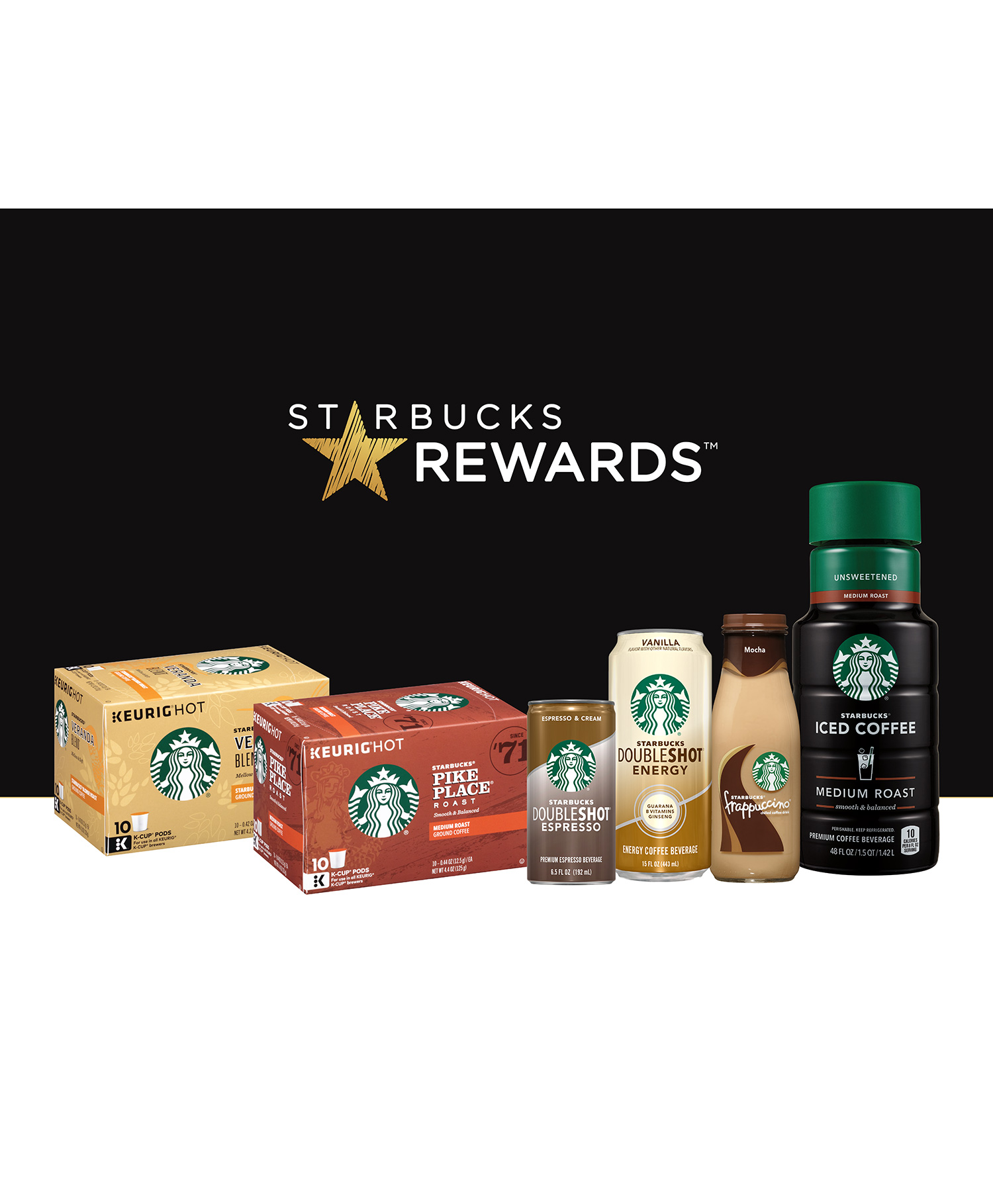 Starbucks Rewards Grocery Shopping