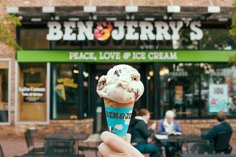 Ben and Jerry's Cone