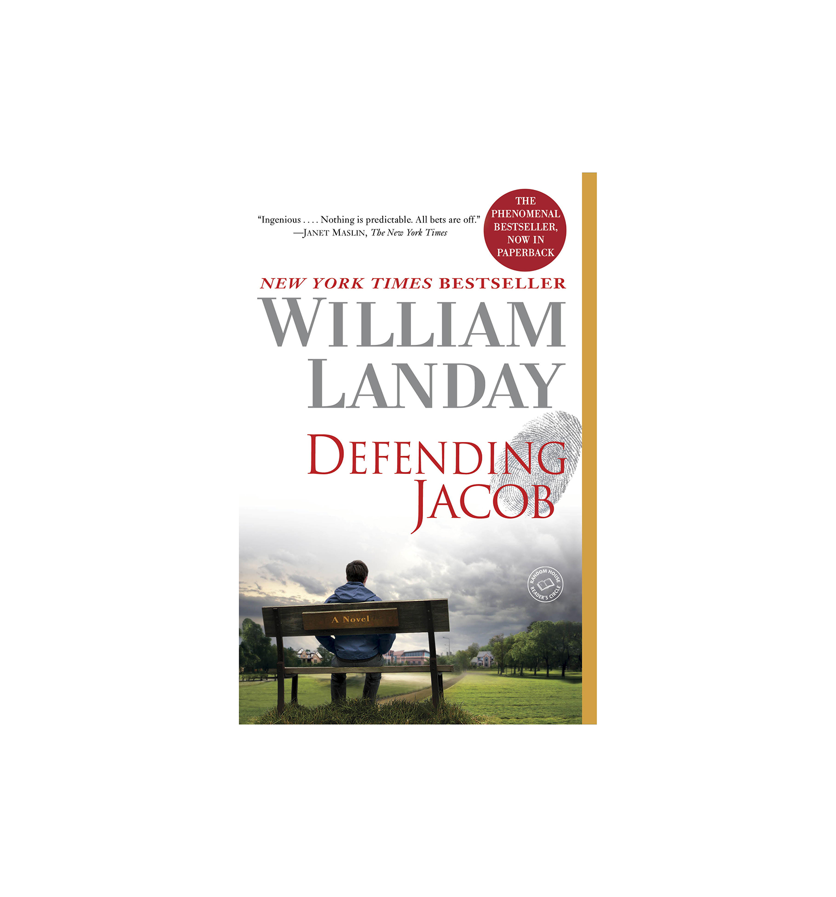 Defending Jacob, by William Landay