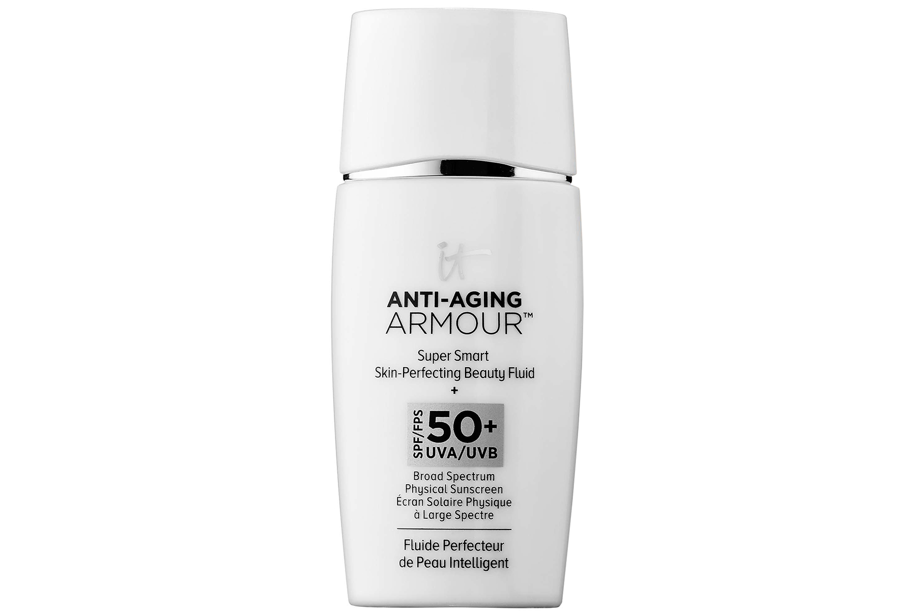 IT Cosmetics Anti-Aging Armour Super Smart Skin-Perfecting Beauty Fluid SPF 50+ (The 5 Best Selling Products from Sephora This Year)