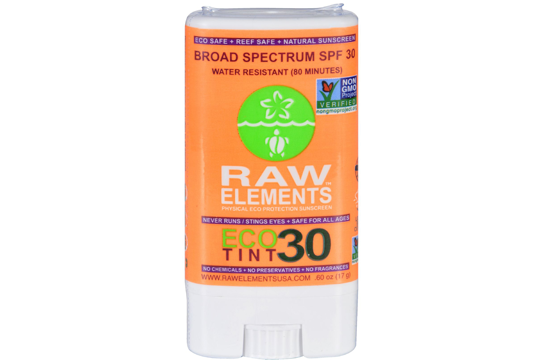 Raw Elements Sunscreen Eco Tint Stick SPF 30