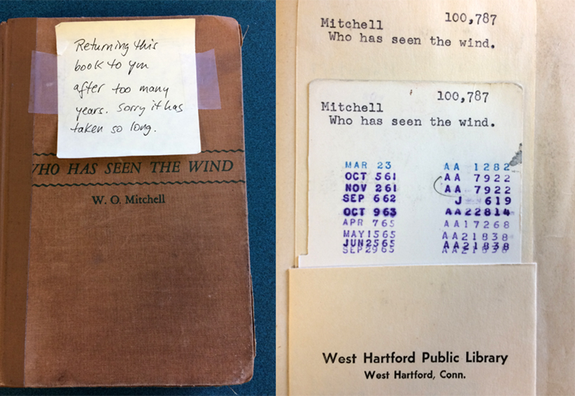 Overdue Library Book Returned 52 Years Late