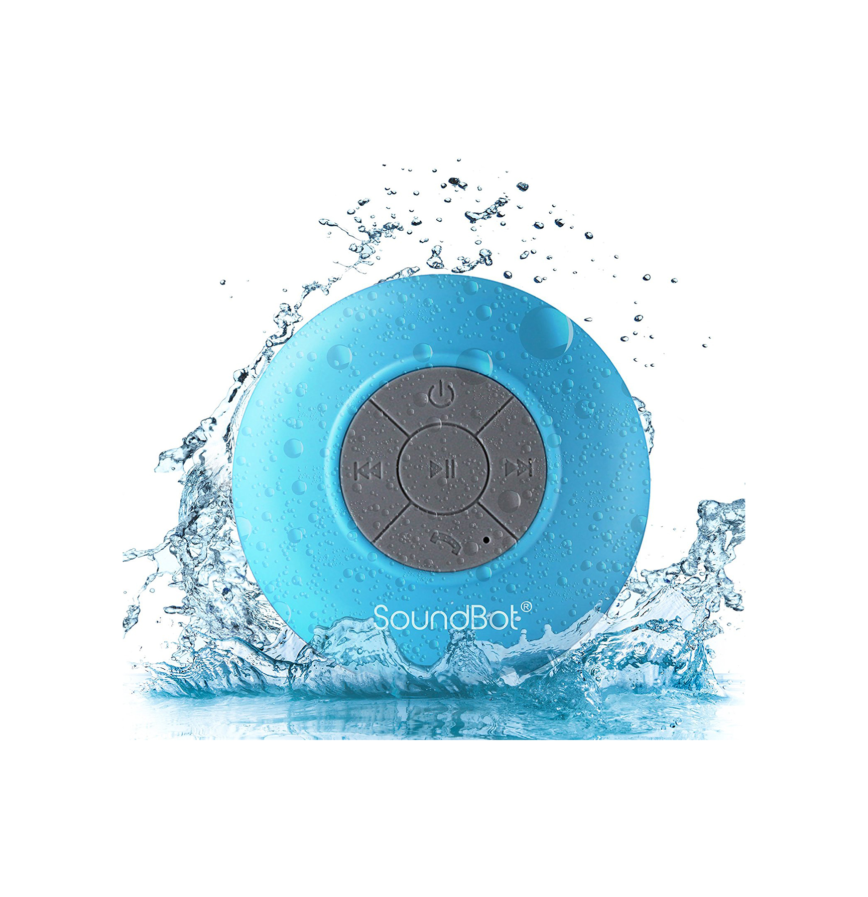 SoundBot Water Resistant Bluetooth Shower Speaker