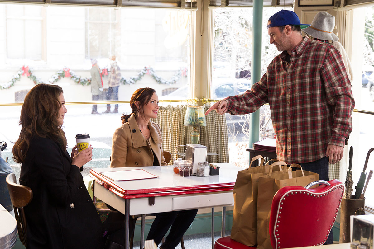 Gilmore Girls At Luke's Diner
