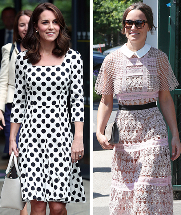 17a219a0a Score Kate and Pippa Middleton's Wimbledon's Looks for Less   Real ...