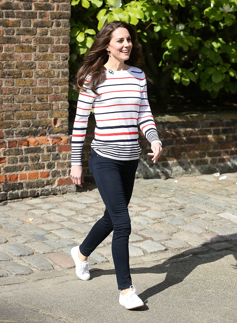Kate Middleton Sneakers Look