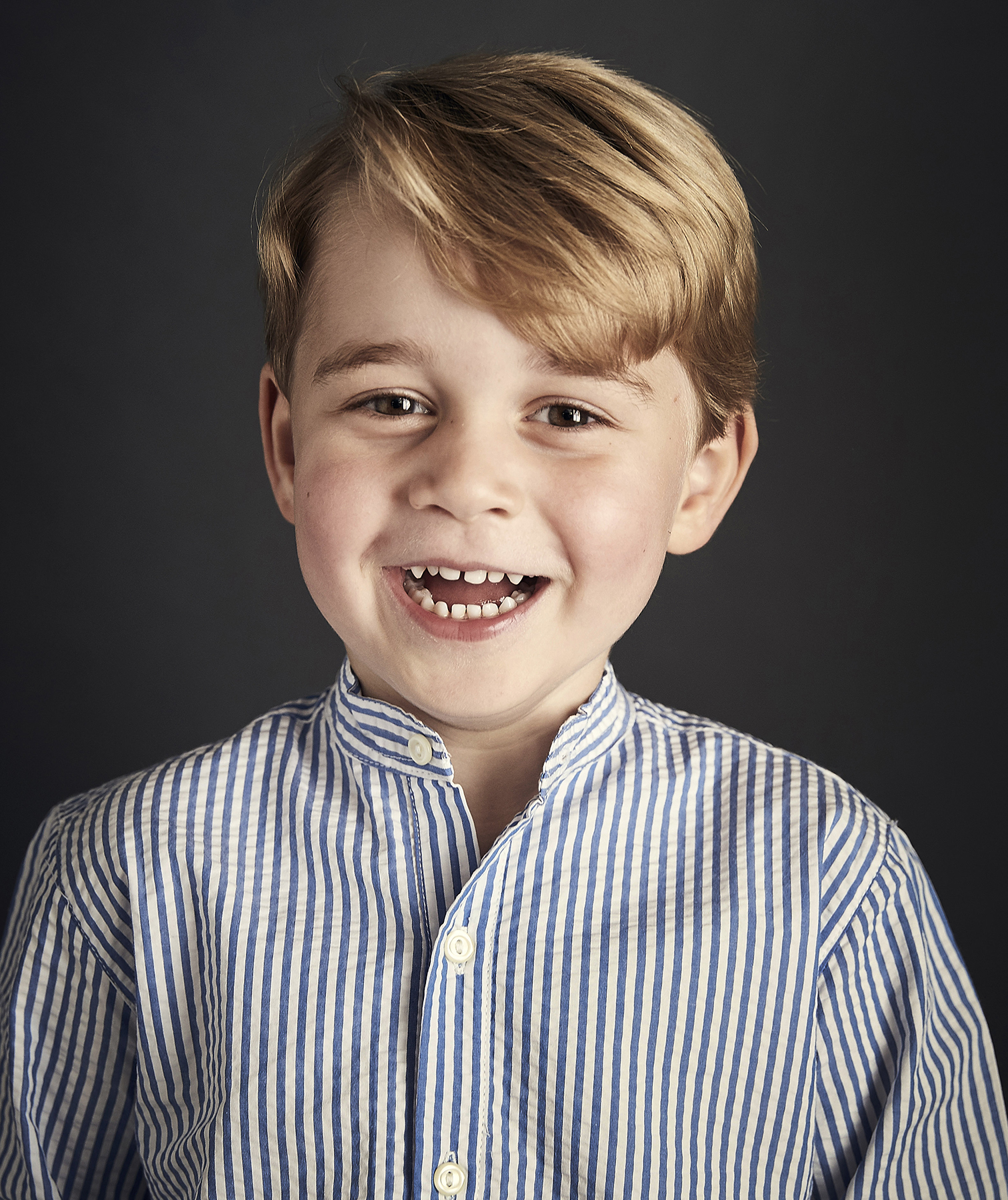 Prince George 4th Birthday Portrait