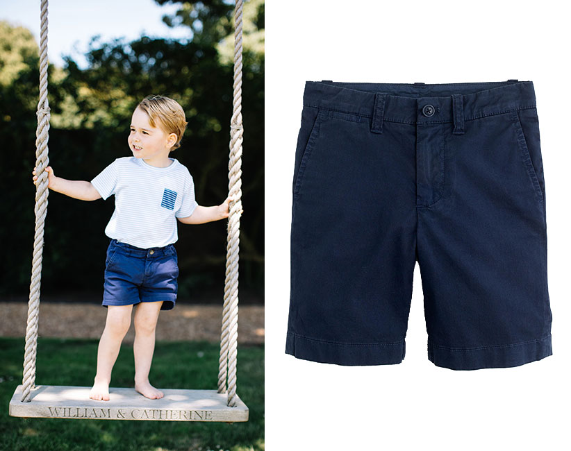 prince george navy chinos