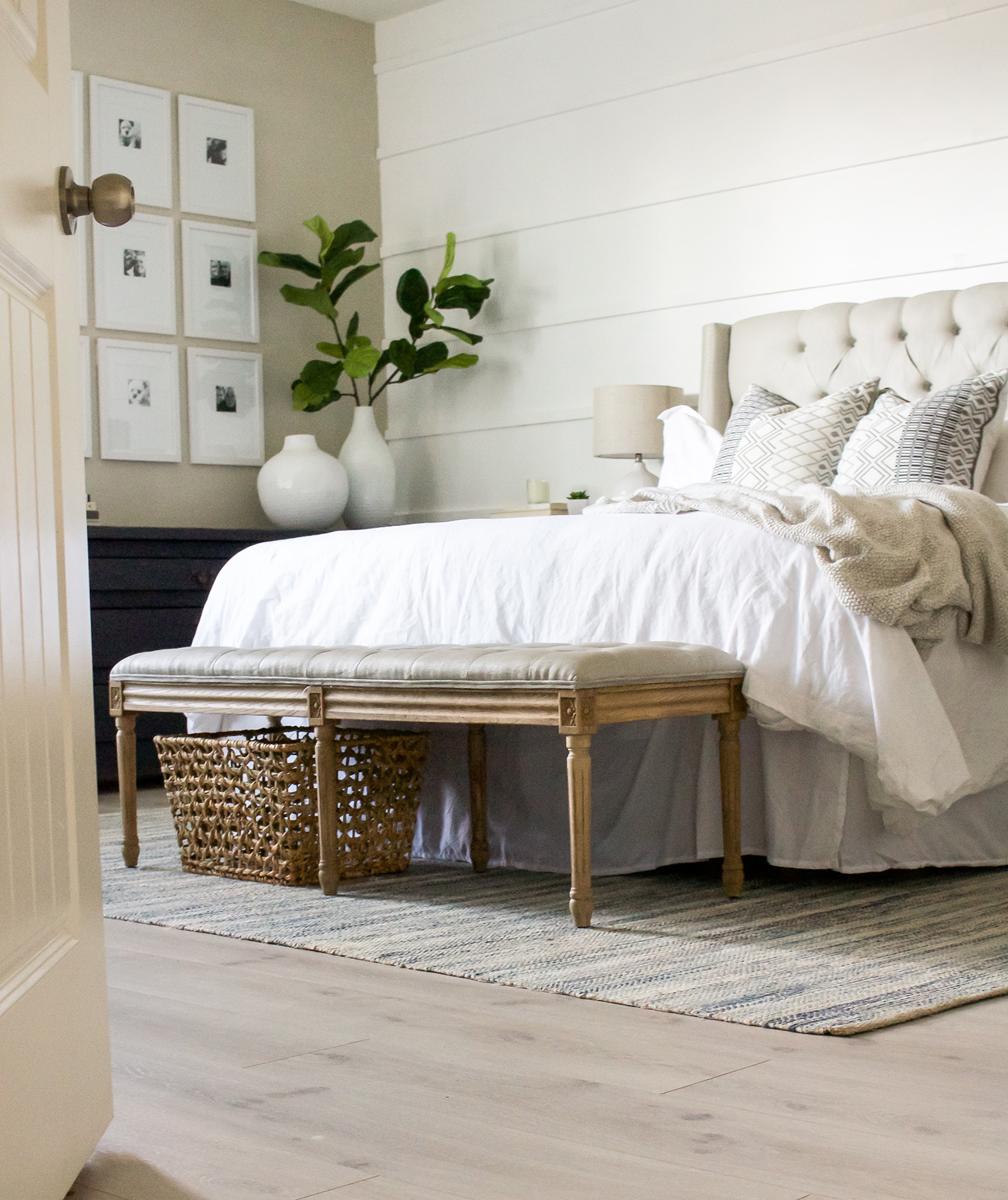 Bench at end of bed