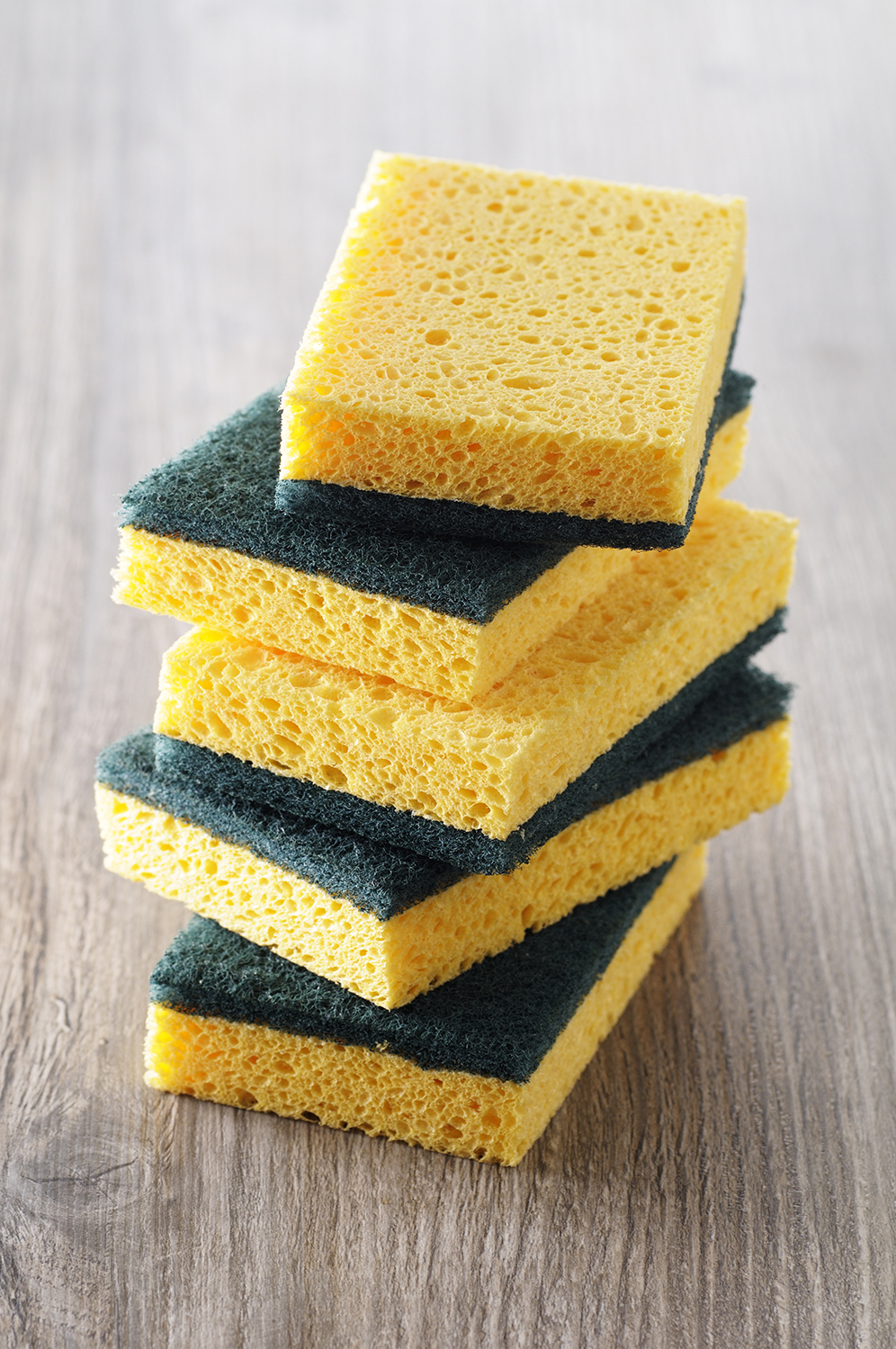 You Should Throw Away Your Germy Kitchen Sponge Immediately. Here's