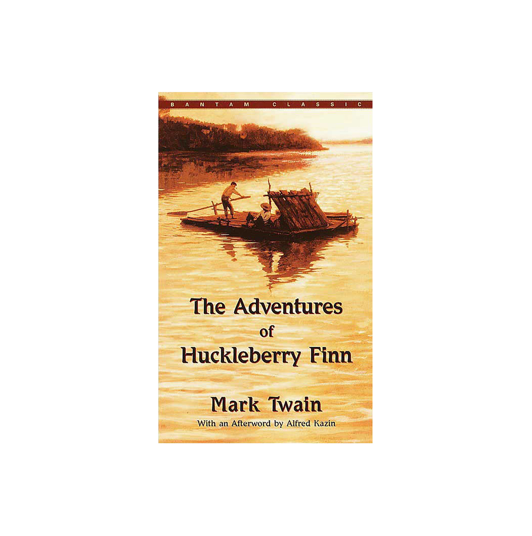 The Adventures of Huckleberry Finn, by Mark Twain  (BRIDGE BOOKS)