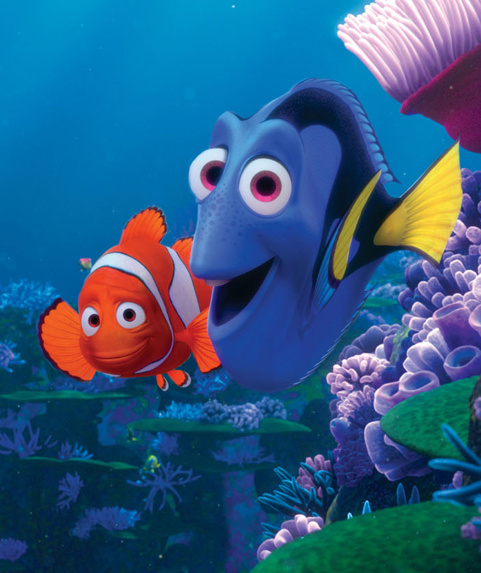 Still from Finding Nemo