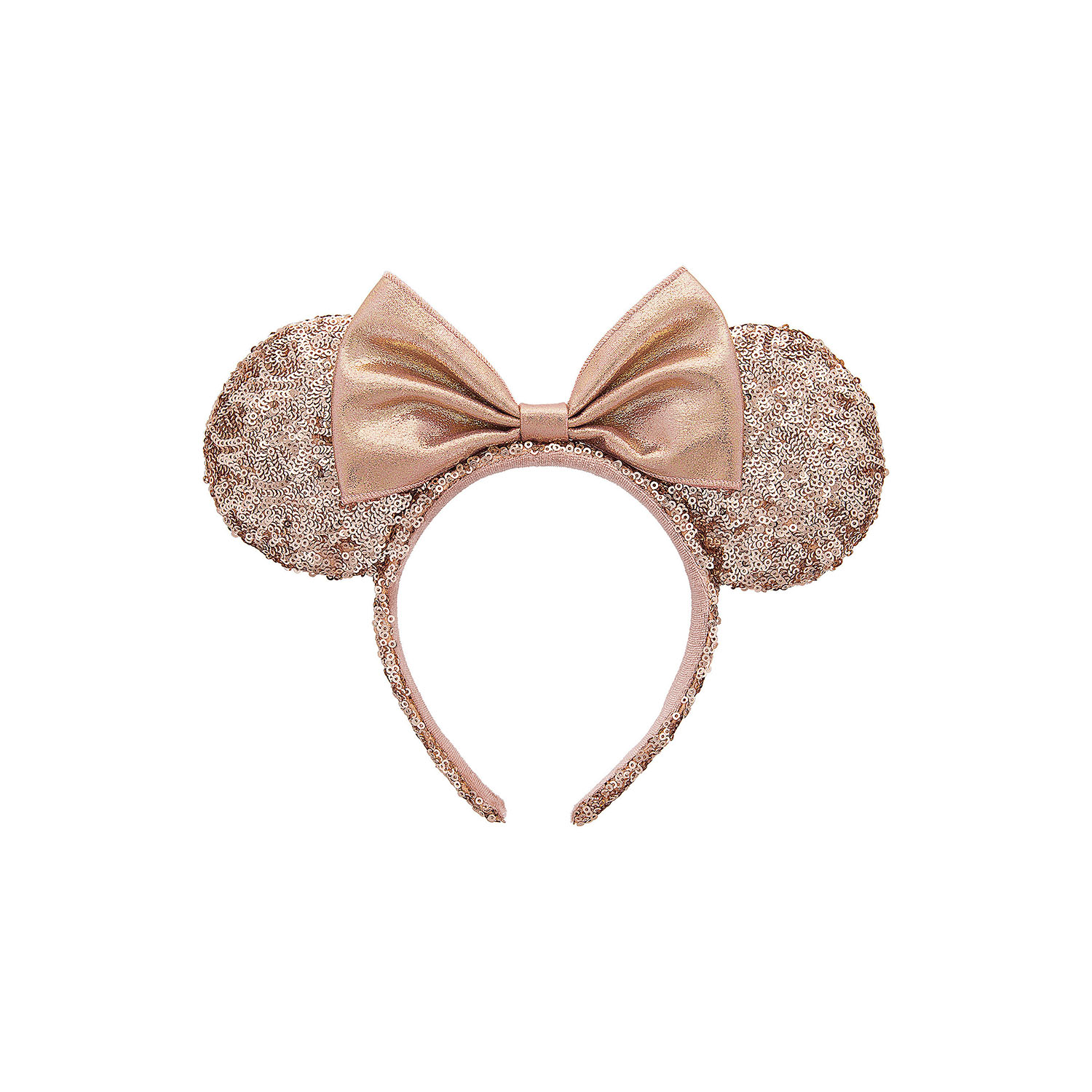Minnie Mouse Ears in Rose Gold