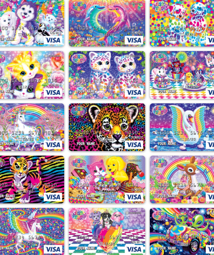 Now You Can Get a Lisa Frank Debit Card