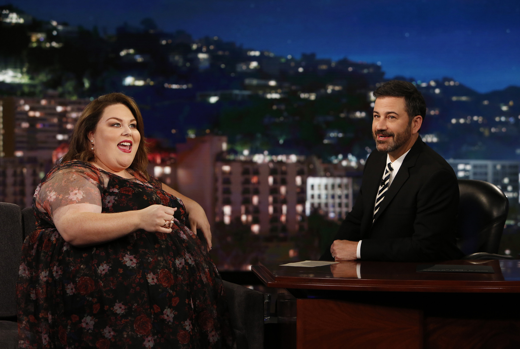 Chrissy Metz on Jimmy Kimmel