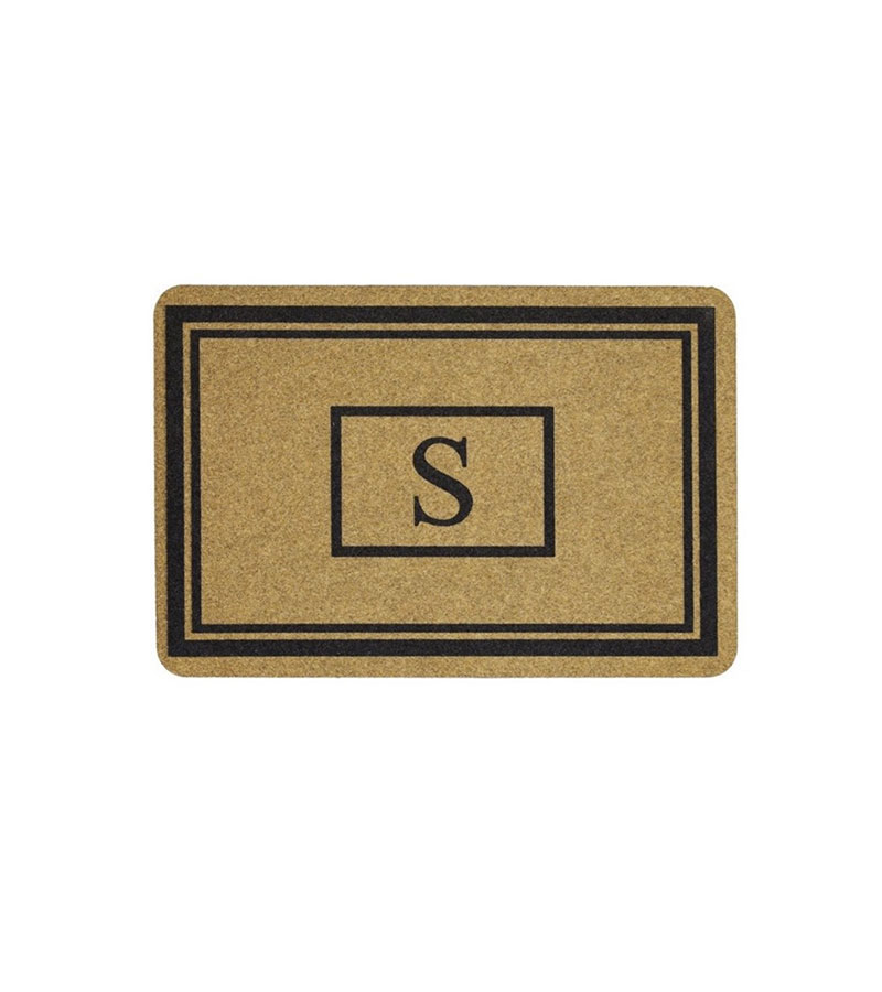 Mohawk Home Monogram Doormat