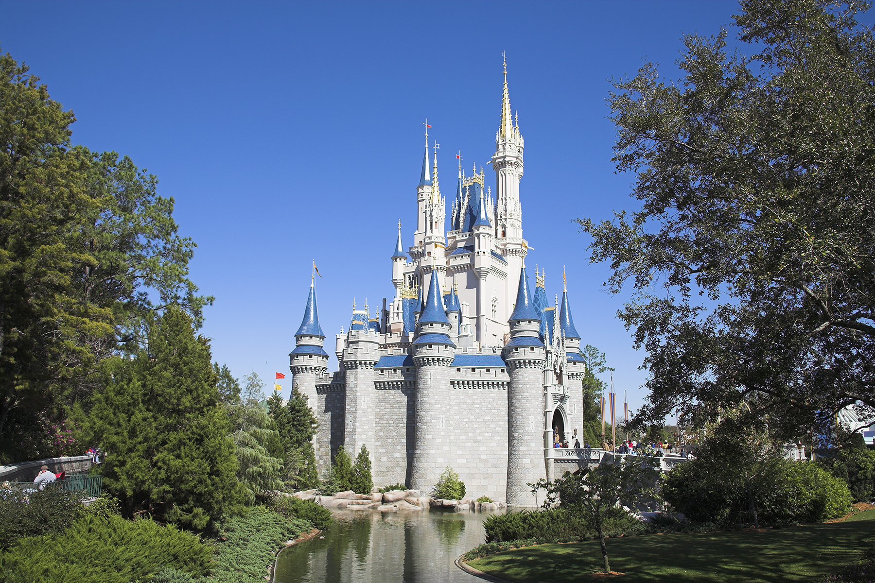 Sleeping Beauty's Castle, Disney World