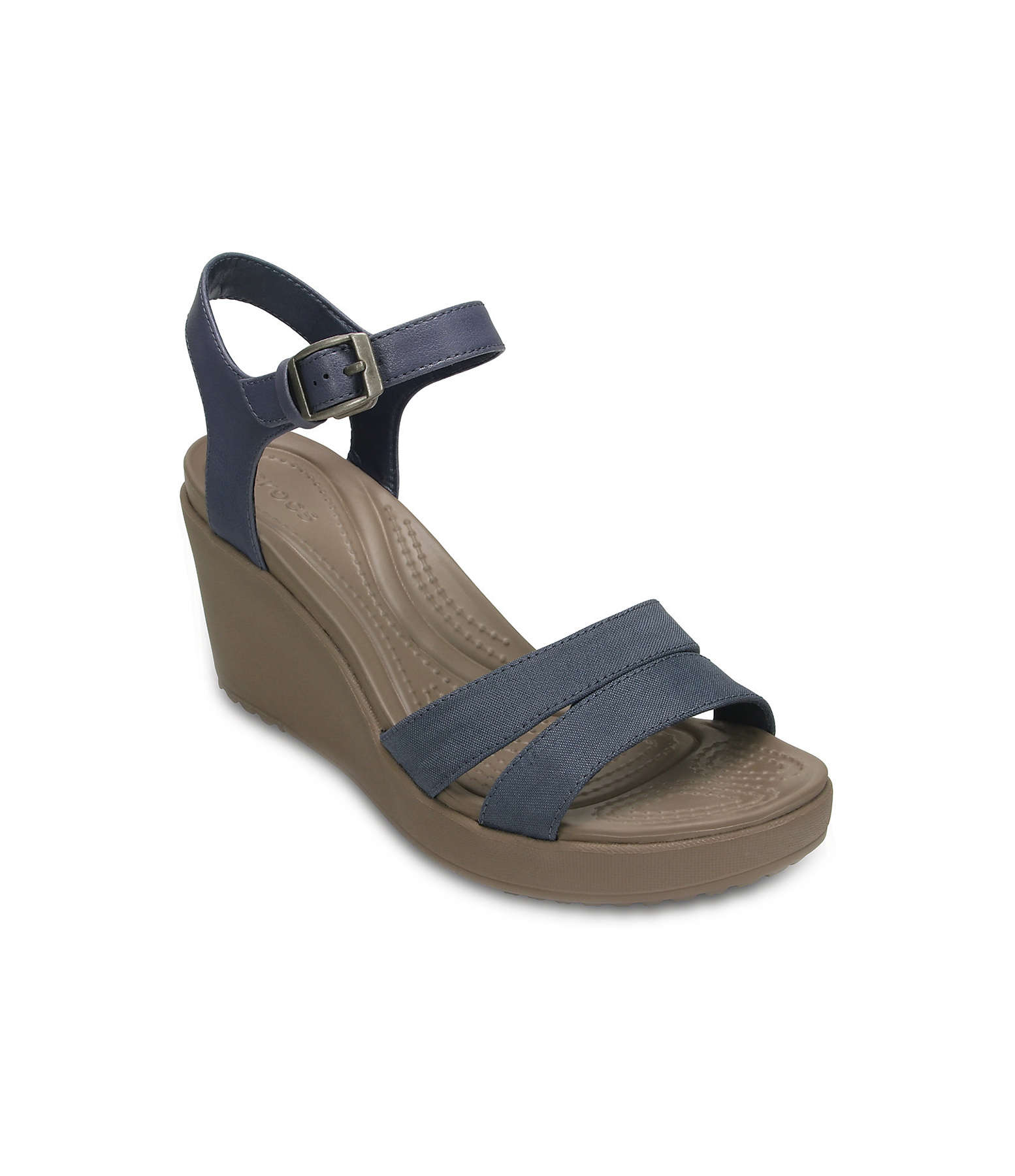Crocs Leigh II Ankle Strap Wedge Sandal