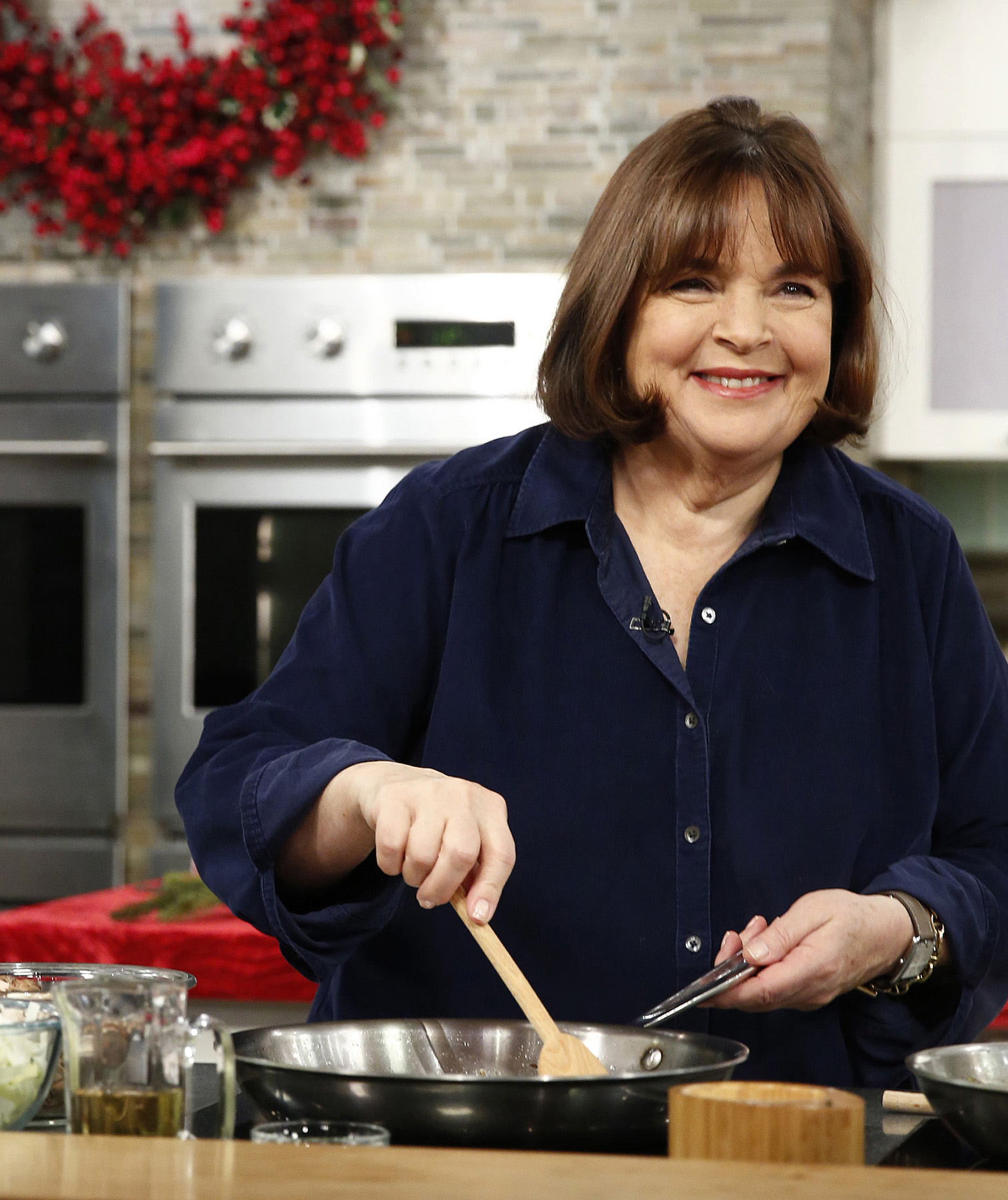Ina Garten in kitchen