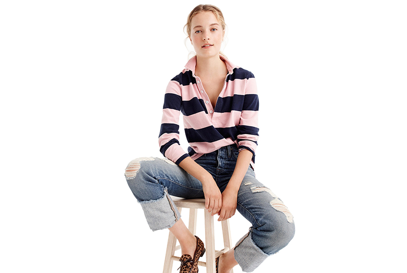 c1f5b5db9b7d The striped shirt was originally designed in 1984 with a loose fit in line  with the silhouettes of ...