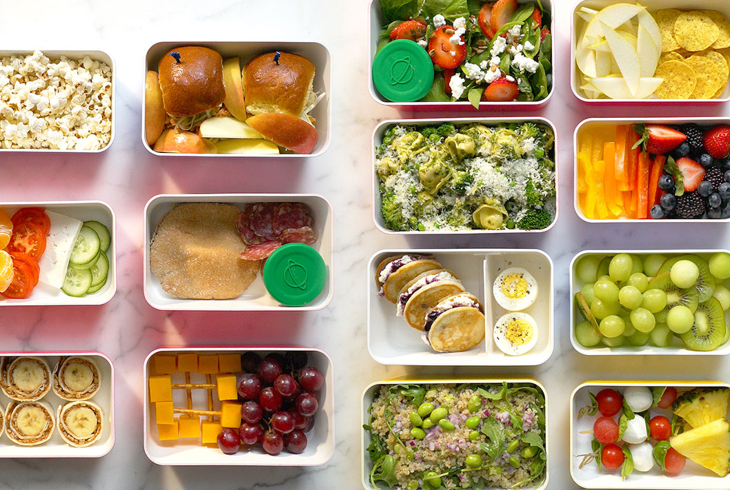 Noon: Pack a Prep-Ahead Lunch