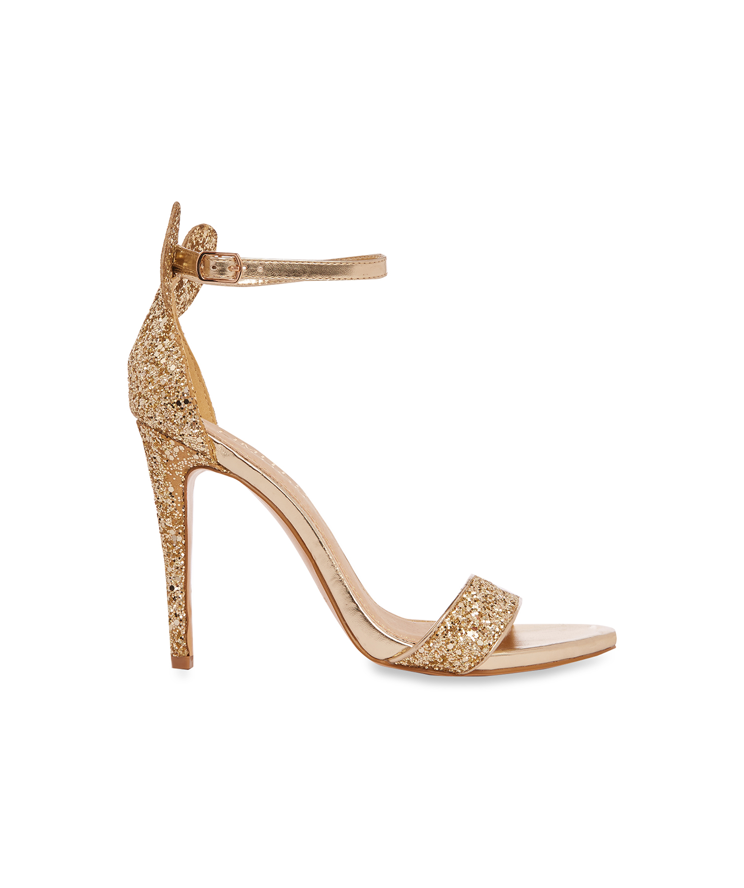 Gold Minnie Mouse Heels