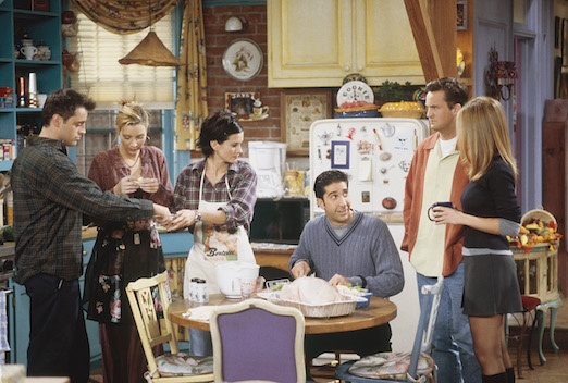 Friends Cast Celebrates Friendsgiving Instead of Thanksgiving
