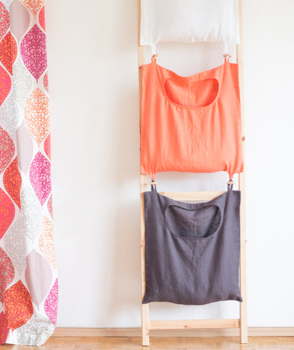 Color-Coded Laundry Bags