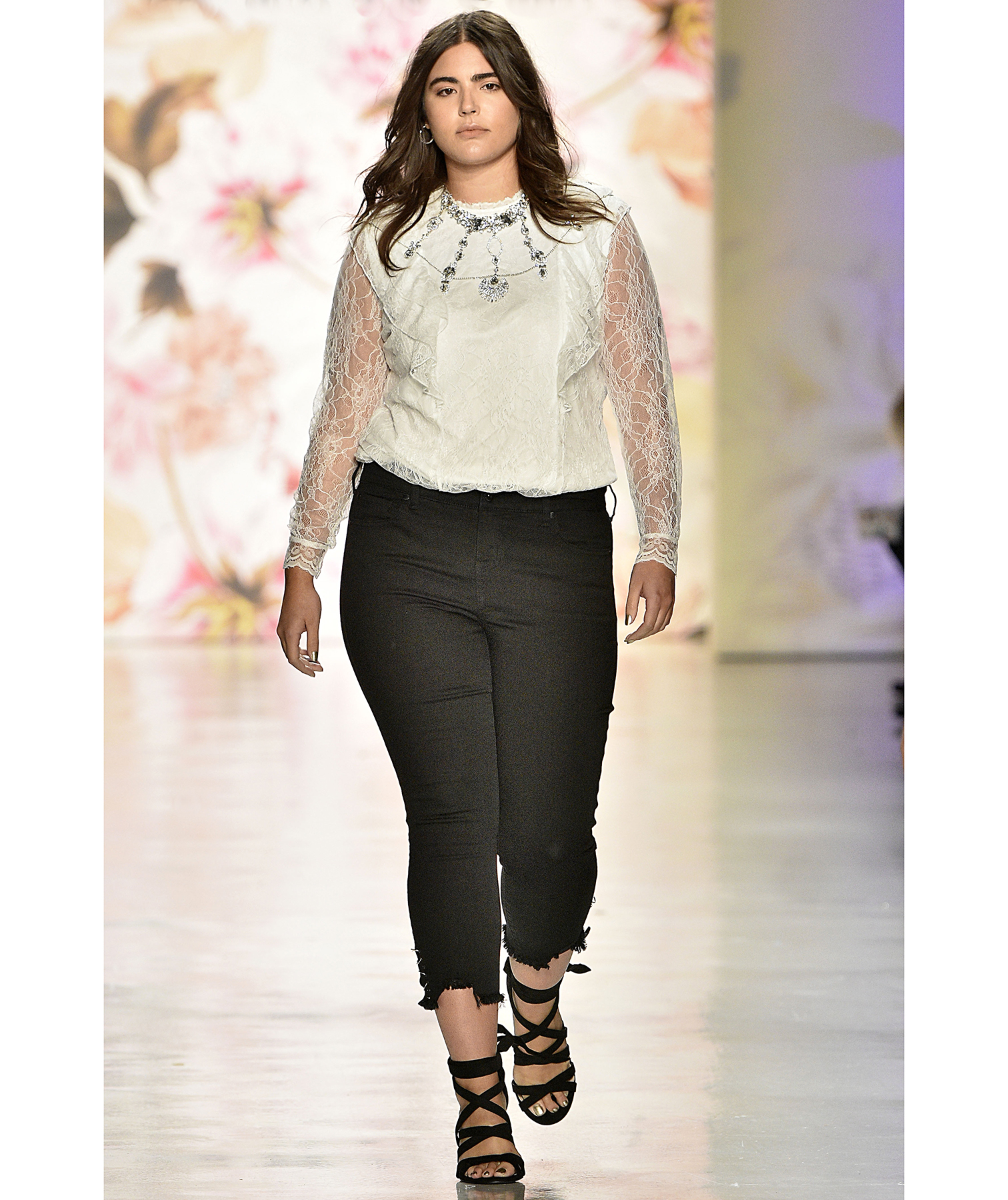 d4518c67c0c This Brand Made Its Fashion Week Debut Featuring Only Plus Size Models