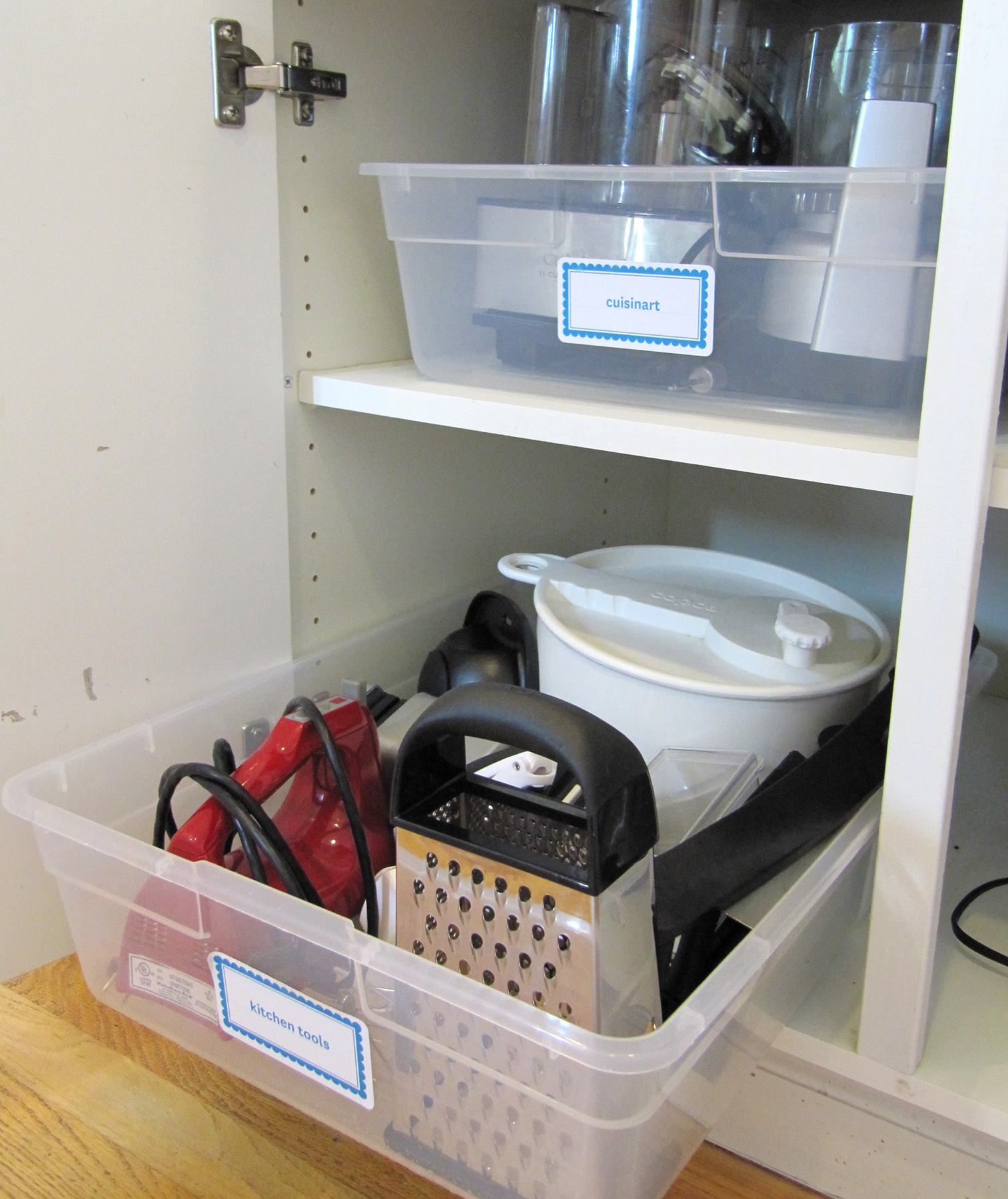 Declutter Your Cabinets