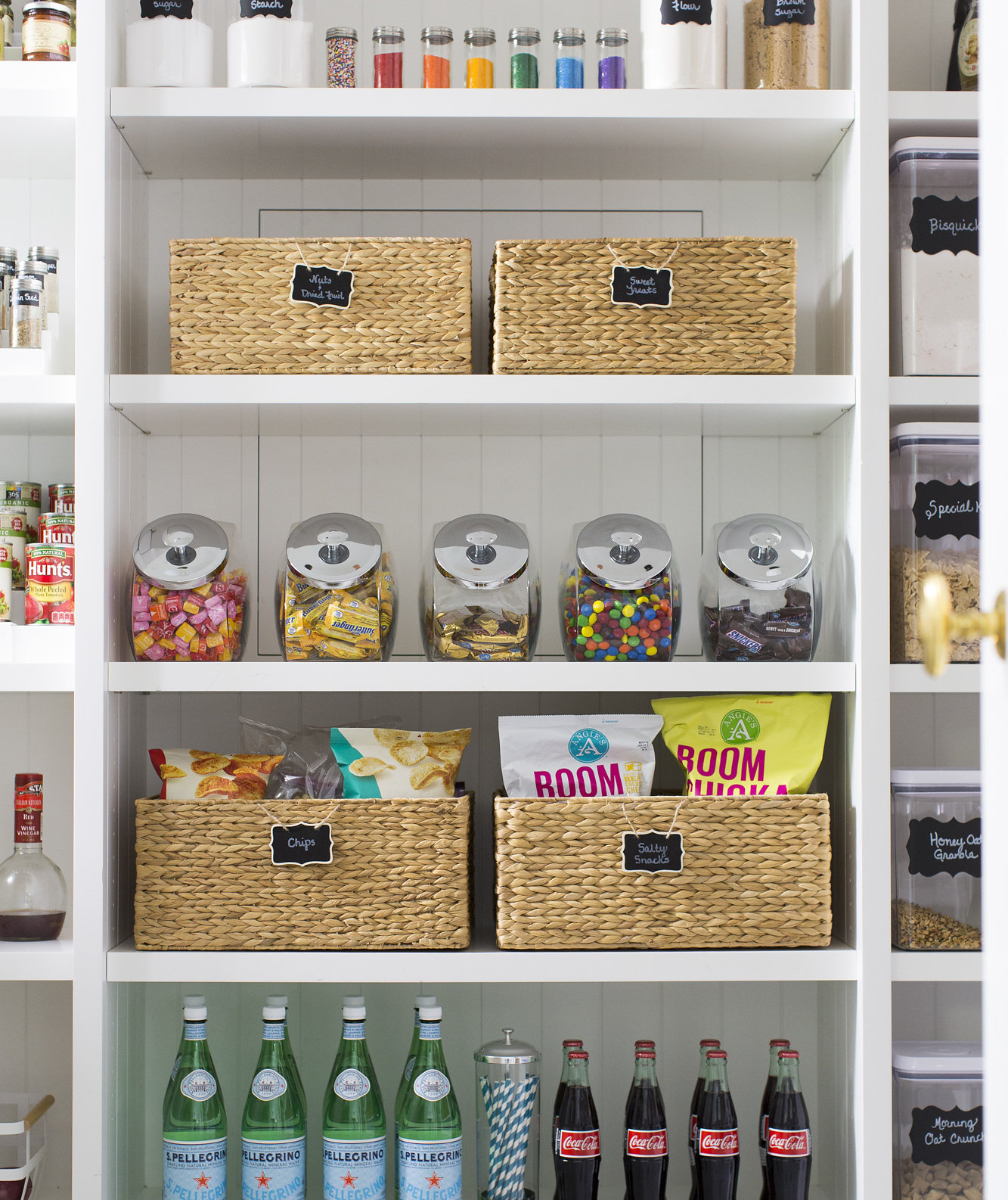 NEAT Method shelves with products