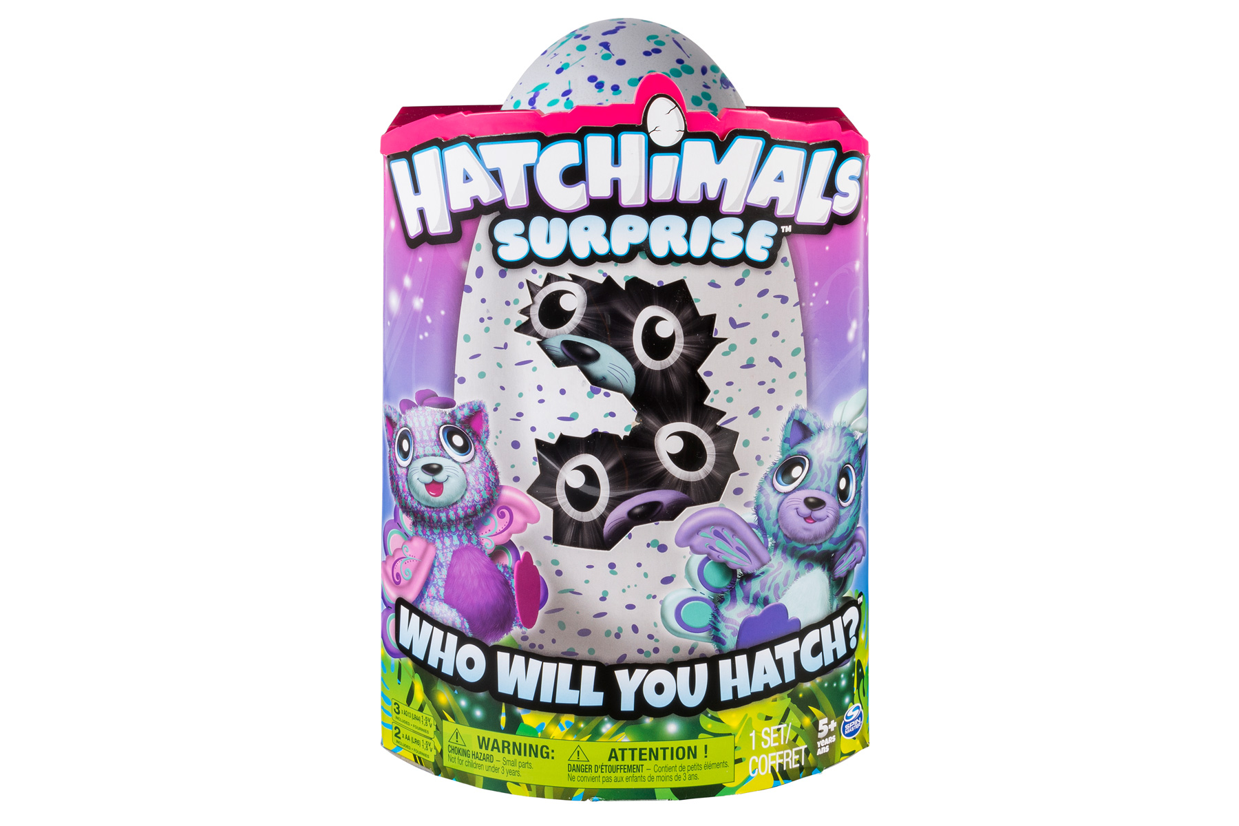 Hatchimals Surprise packaging