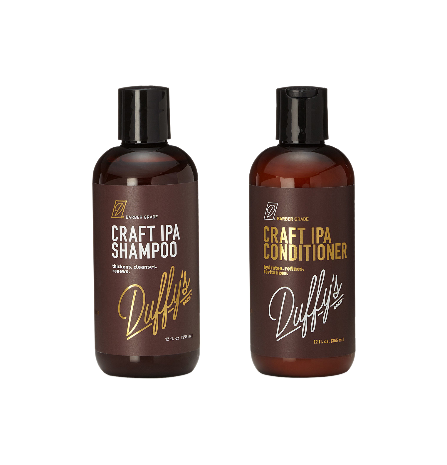 Craft IPA Beer Shampoo and Conditioner