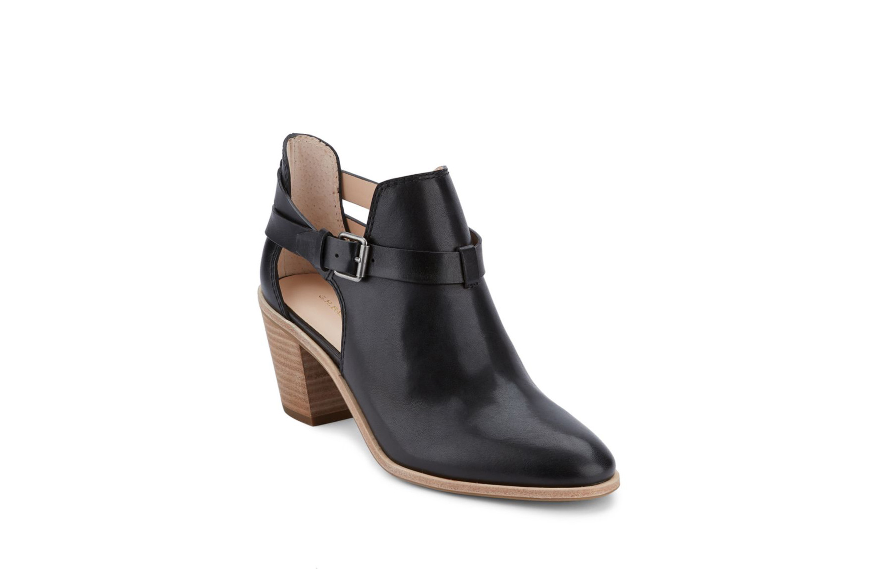 G.H. Bass Sylvia Leather Ankle Boots
