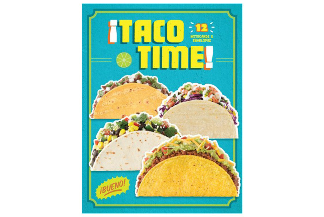 Taco Time Notecards and Envelopes
