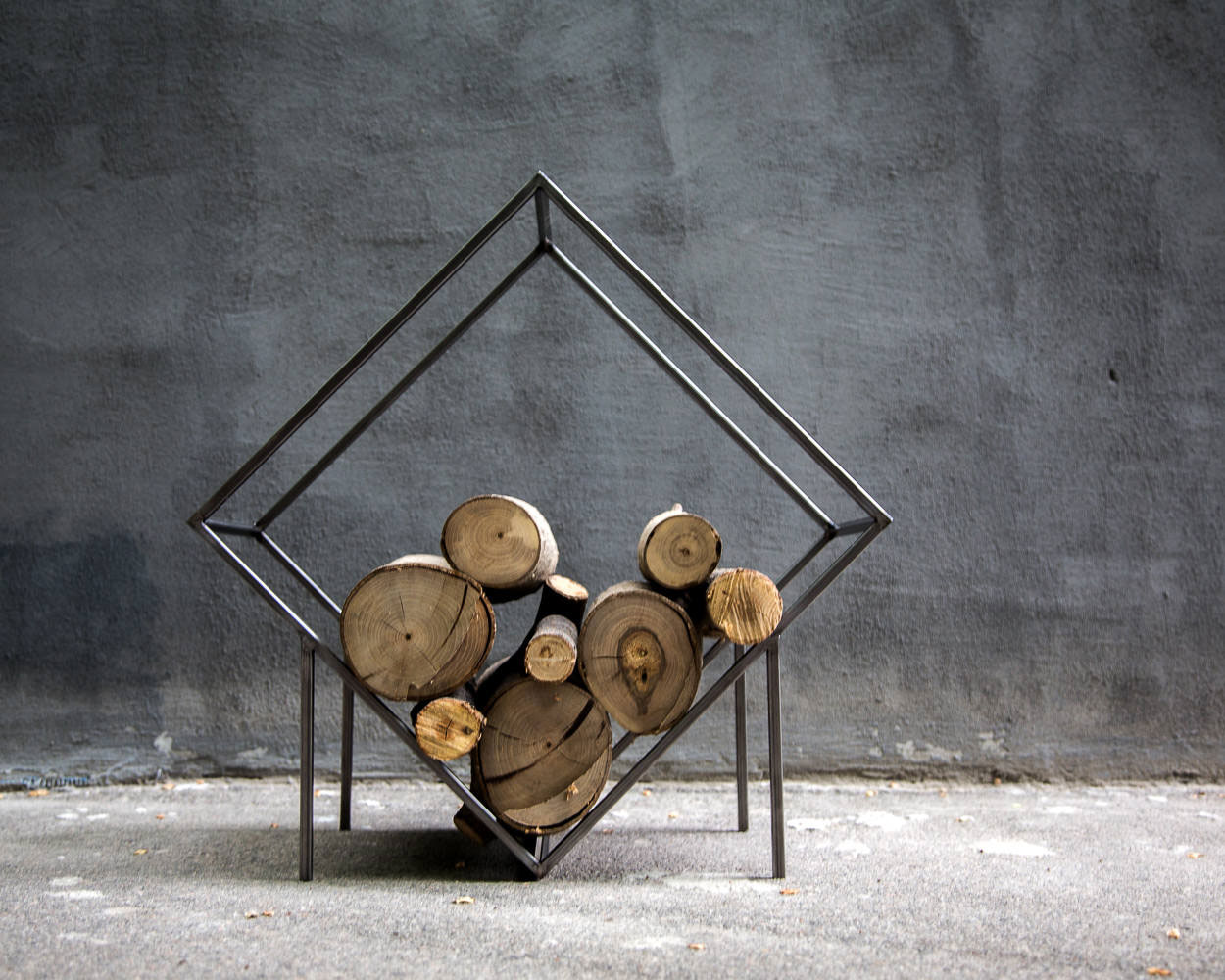 Small Firewood Holder