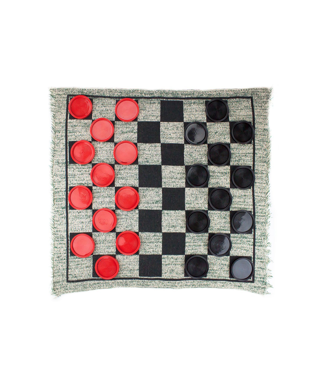 Giant Checkers Rug