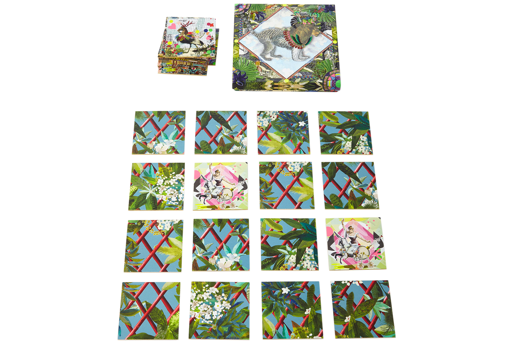 Christian Lacroix Memory Game and Puzzle